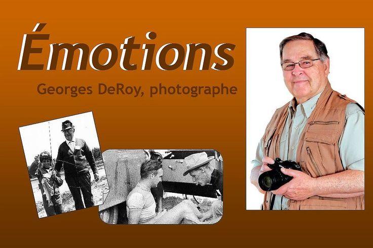 Montréal, début des années 1950, George de Roy est adolescent et la photographie le fascine. De la ville à la campagne, d'hier à aujourd'hui il fixe dans le temps des images de la vie quotidienne. Le parcours photographique que nous vous présentons ici est commenté par l'artiste lui-même et vous invite à faire incursion non seulement dans la mémoire des sujets et du photographe, mais également dans vos souvenirs.