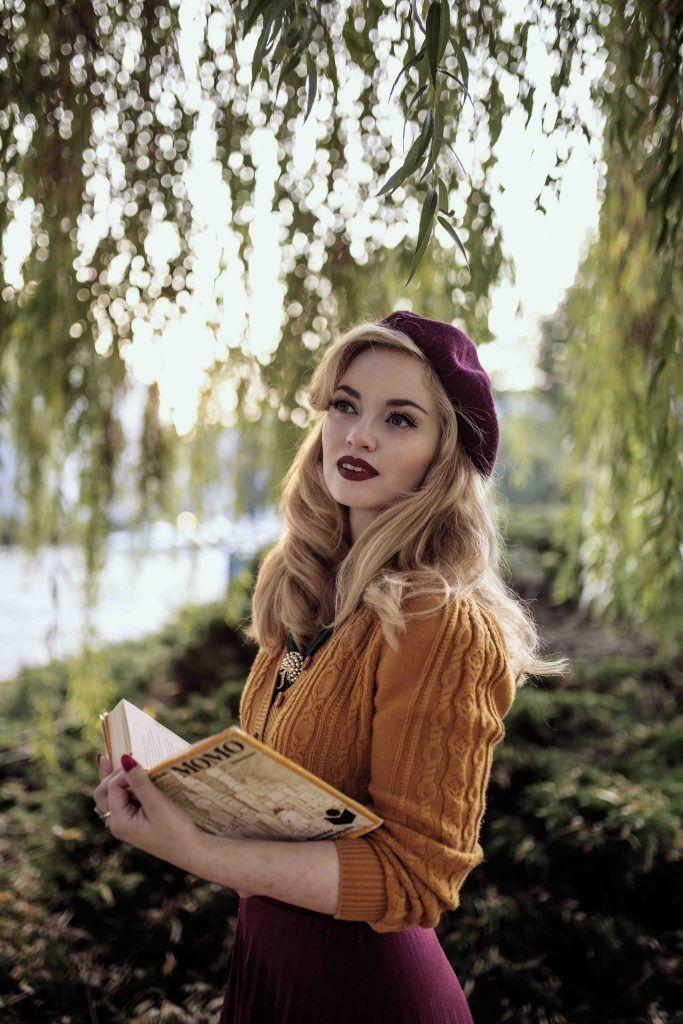 Vintagemaedchen #VintageBlog - autumn photoshoot. Picture by Sophia Molek. #VintageStyle