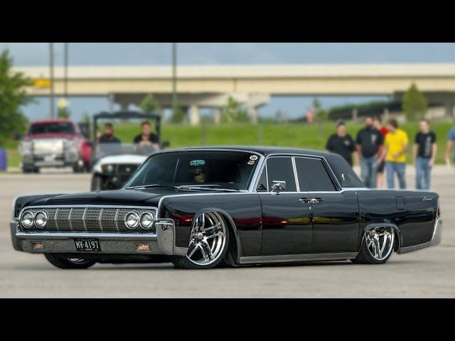 This Is The Baddest Lincoln Continental In The World! I'd Love To Cruise Around Town All Night In It!