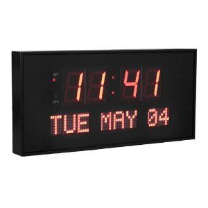 An Alzheimer's Clock (digital clock) can help the person with dementia keep time, rather than struggle with a conventional clock that they don't understand.