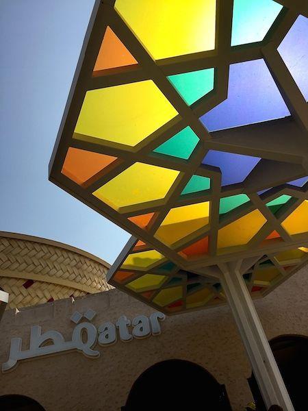 Qatari Pavilion, Expo 2015, Milan, Italy