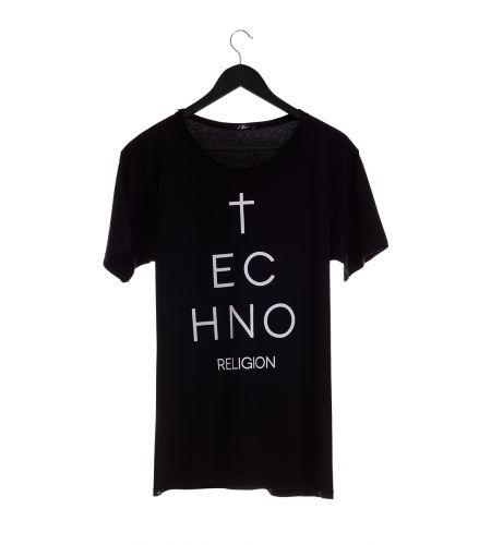 T-Shirt Techno Religion
