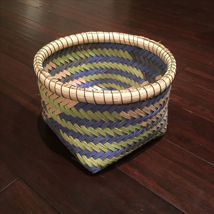 Basket Weaving With Bamboo : Best baskets images on