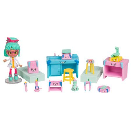 Happy Places Shopkins Season 3 School Welcome Pack, Science LAB