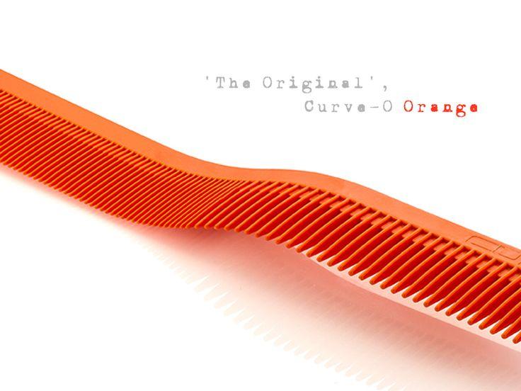 Curve-O Advanced Cutting Comb 'The Original' Orange.