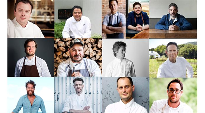 An international line-up of top chefs will be cooking in the countown to Christmas at three Michelin starred Meadowood in California. Be sure to book a table.