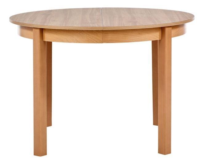 table ronde allonge ruben noyer clair