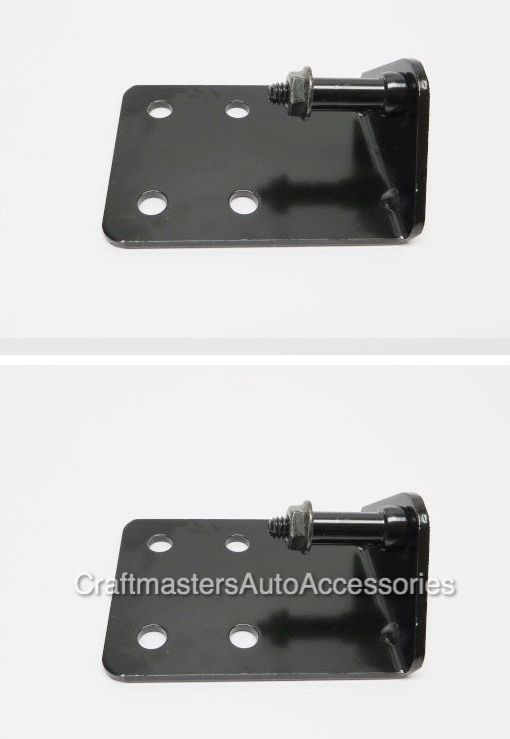 Truck tonneau cover LEER 700 / 550 top support arm brackets with nuts # 81340…