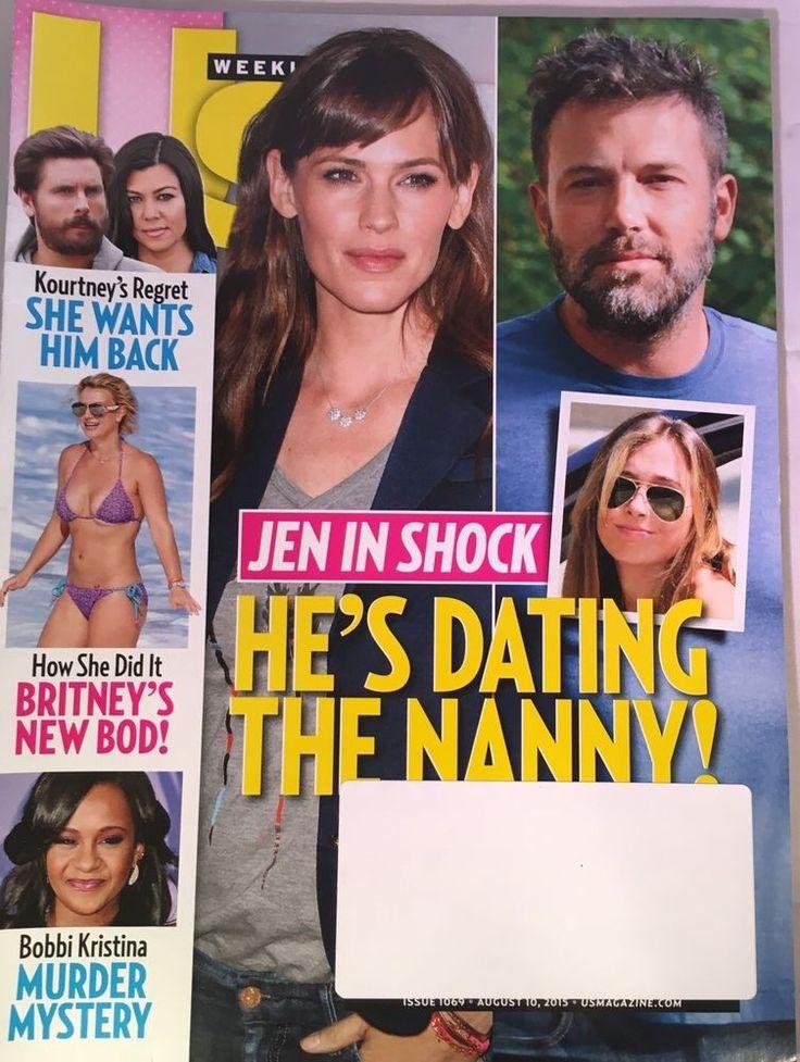 US Weekly Magazine August 10 2015 Ben Affleck Dating Nanny BOBBI KRISTINA BROWN  | eBay