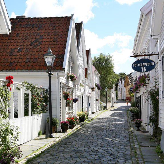 Stavanger, uno de los mayores puertos de Noruega