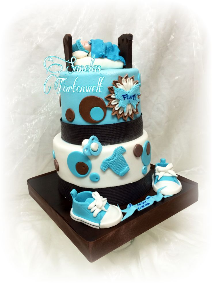 Tauftorte Baby Baptism cake