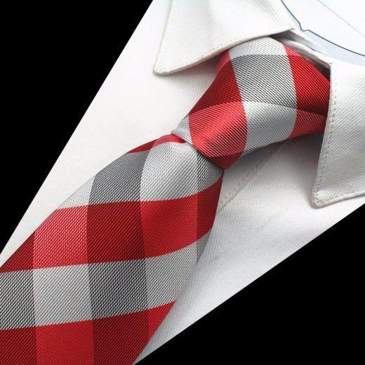 Hodvábny kravatový set - kravata + manžety + vreckovka - vzor08