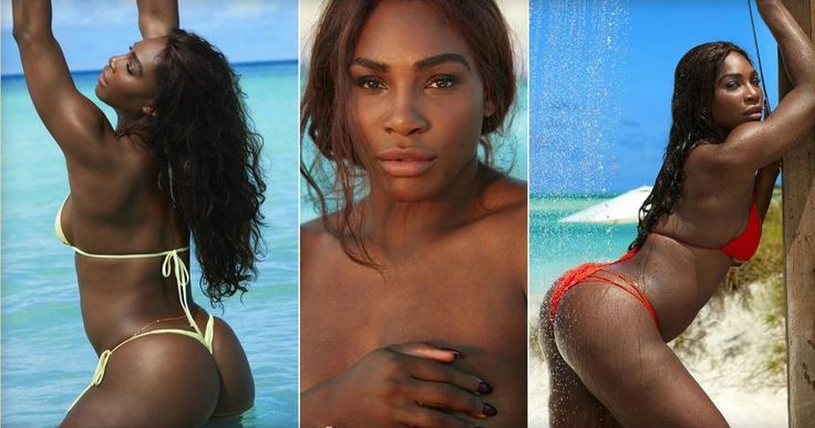 Serena Williams featured in the new SI Swimsuit 2017 edition