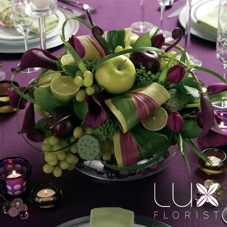 fruits & floral. The color combinations are amazing!