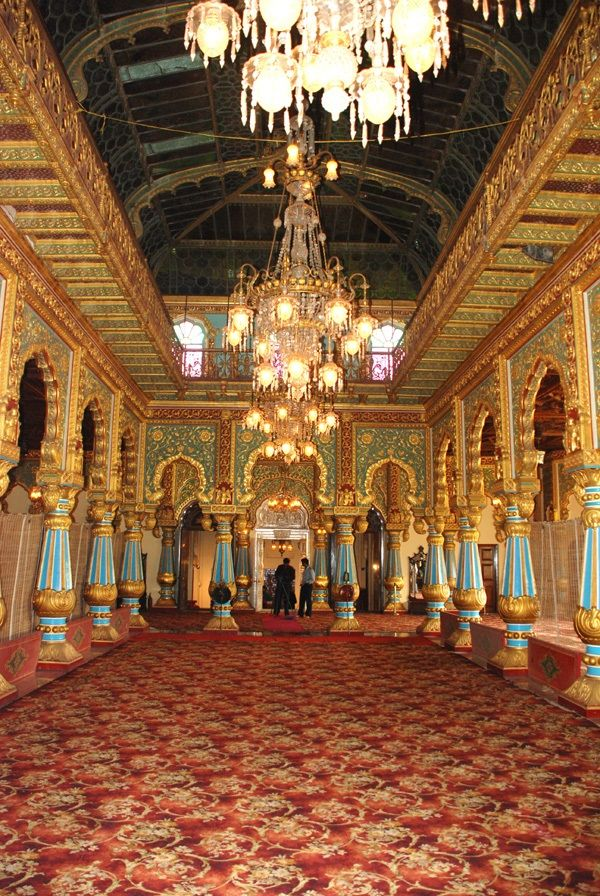 Private Durbar at Mysore Palace. 15 Mysore Palace