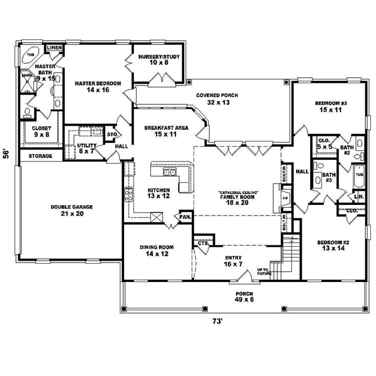Greenshire cape cod home traditional house plans and Acadian floor plans