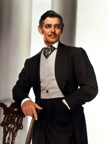 Clark Gable, one of the greatest actors of his time. Love his look, very cool. wished that was still in style today.