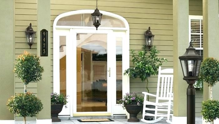 Cost To Install A Storm Door How To Install A Storm Door Install