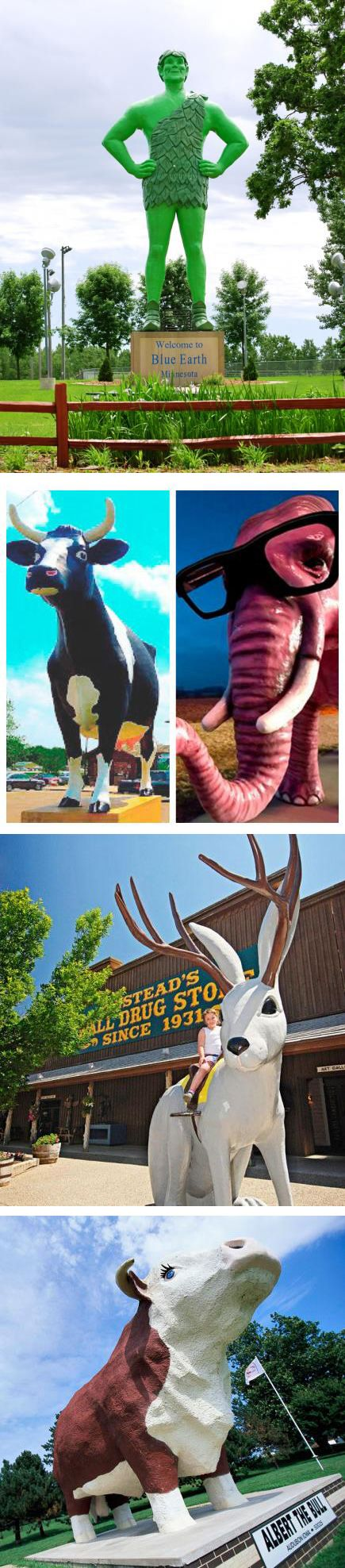 You've GOT to see these Midwest roadside icons! Find out more: http://www.midwestliving.com/travel/around-the-region/midwest-interstate-attractions-worth-a-stop/