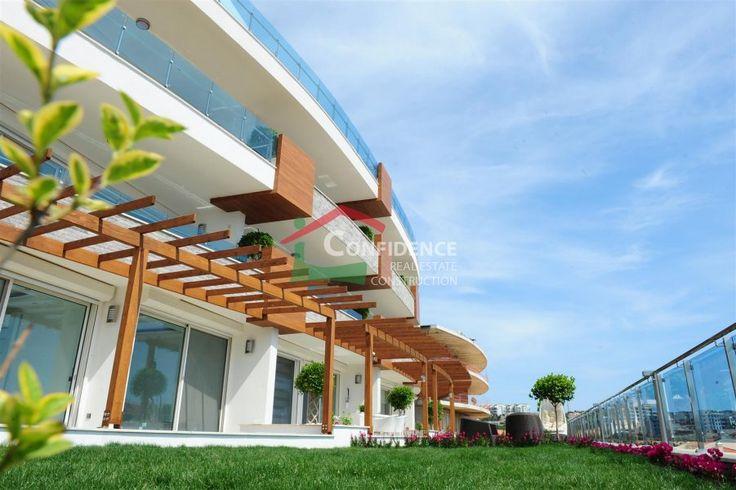 #Фешенебельная #недвижимость в элитном комплексе с собственным пляжем и прекрасными видами на средиземное #море - #Конаклы Недвижимость - #Алания #Недвижимость - #Анталия - #Турция