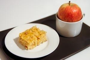 Torta di pane e mele. Ricette di una volta, sane e riciclone :)