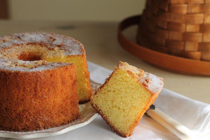 Chiffon cake agli agrumi senza glutine #iomangiolafluffosa