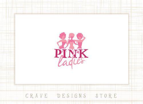 Fashion Women Logo, Party Girls Logo Design