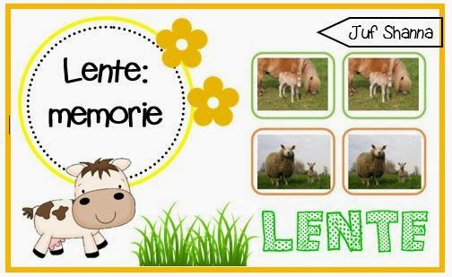 Thema lente: memorie jonge dieren