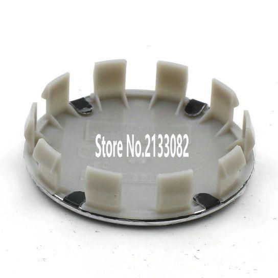 """20 יחידות 68 מ""""מ כחול לבן 10 פין אוטומטי רכב כובעי רכזת מרכז גלגל רים Caps לוגו תג סמל 1 3 6 5 7 8 Z3 Z4, 36136783536"""