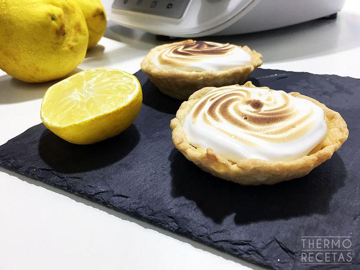 Tartaletas de limón con merengue suizo Thermomix