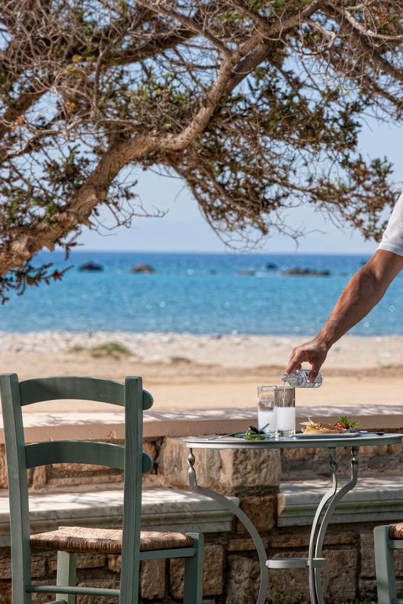 ouzo by the sea   :::   Naxos island   :::  Cyclades, Greece