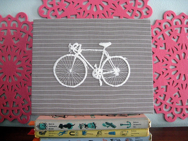 bike embroidery for geo