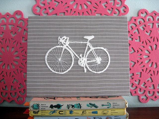 bike embroidery for geo