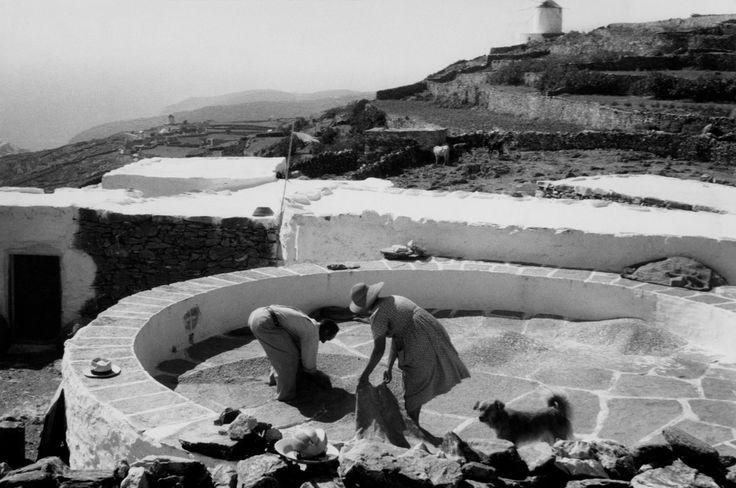 Henri Cartier-Bresson  GREECE. Cyclades. Santorini Island. 1961.
