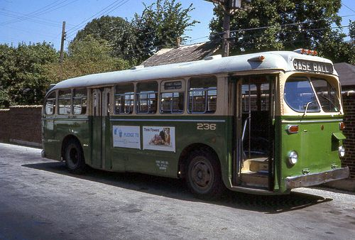 Rochester Ny Restored Old Look Bus: YORK BUS CO. ACF BRILL BUS