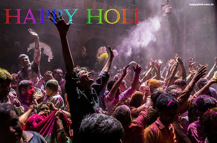 Holi Celebrations in New Delhi, Importance, Significance and People Wishing Eachother
