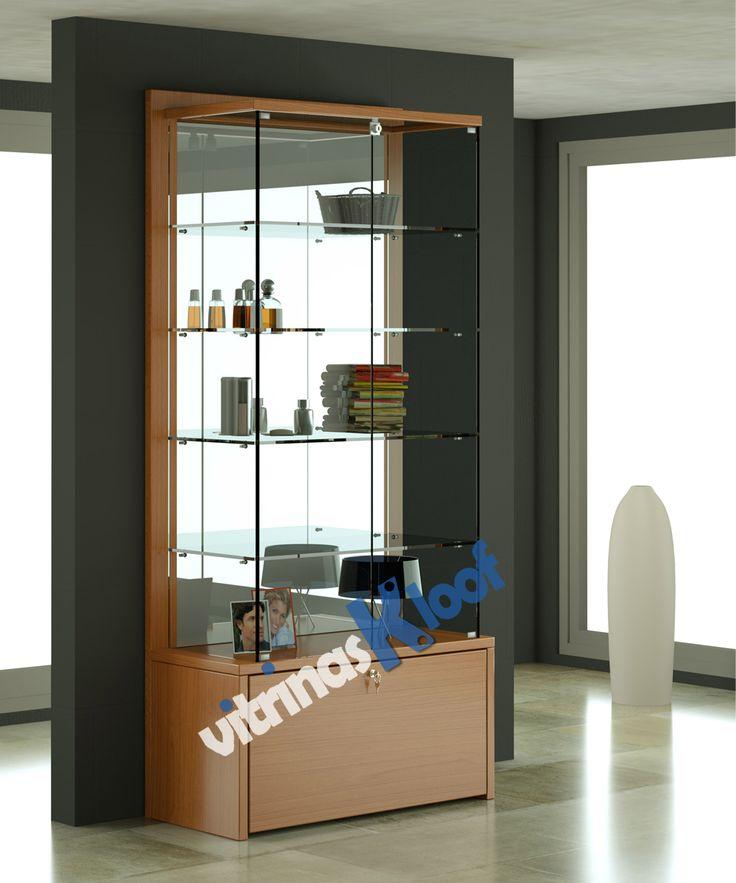 Vitrinas de Cristal Atlas VSA IT 100 VS