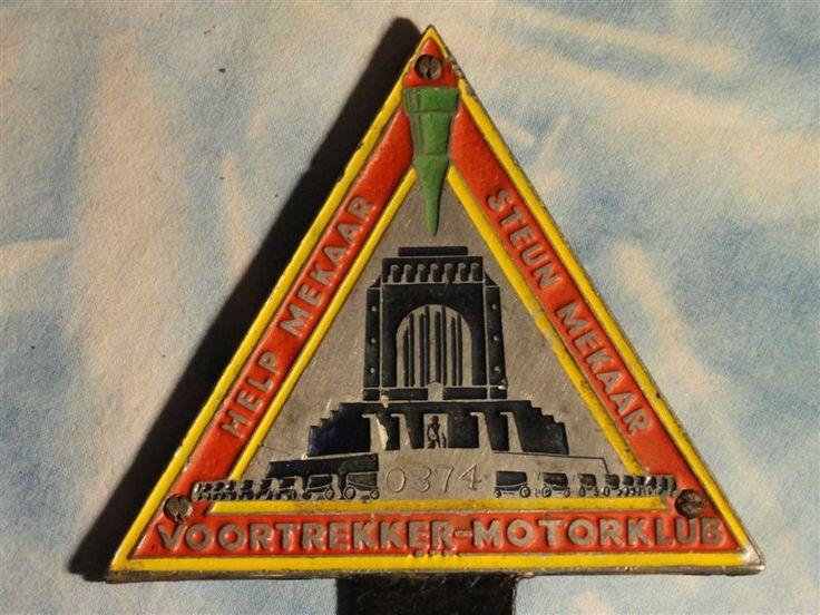 1949 Voortrekkermonument -  Voortrekker Motorklub - Help Mekaar - Steun Mekaar