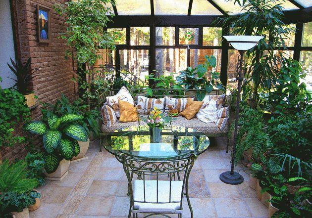 Зимний сад - островок природы в вашем доме - Интерьеры статья - Дизайн и архитектура растут здесь - Артишок