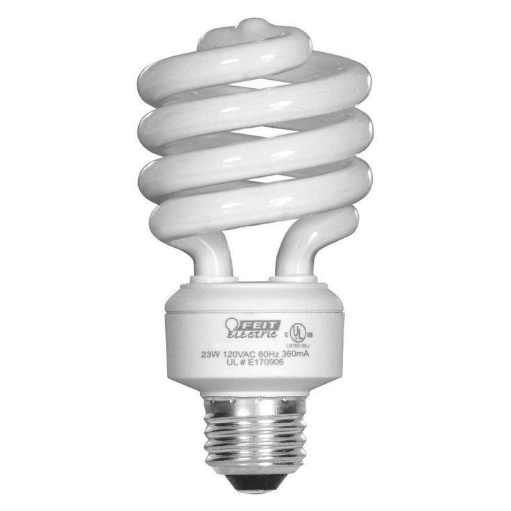 Feit Electric ESL23TM/D/4 Day Light Compact Fluorescent Bulb, 23 Watt