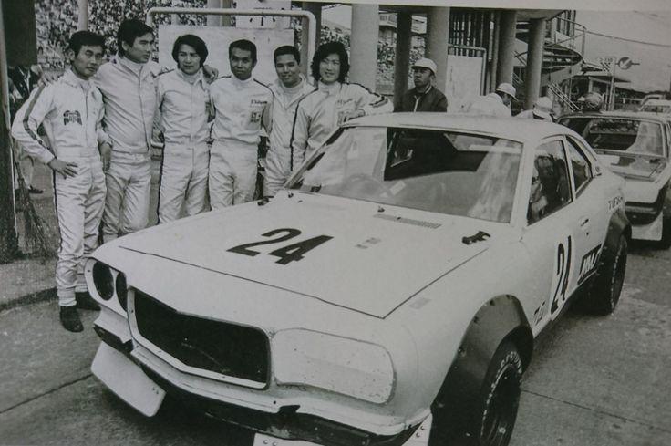 「SAMURAI」             Mazda Racing            Drivers at 1972