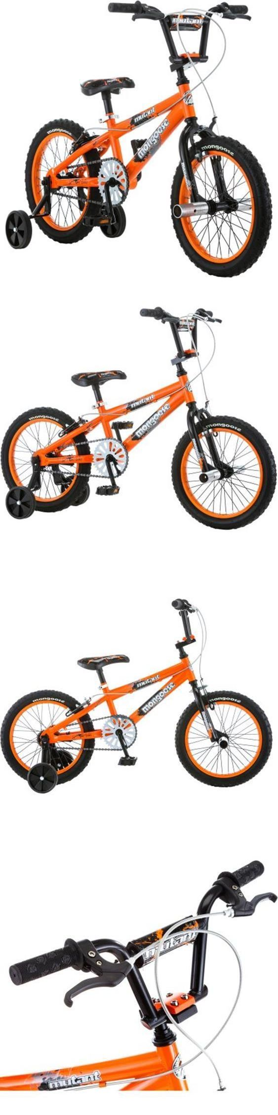 Bicycles 177831: 16 Inch Kids Bike Mutant Boys Bicycle Children Training Wheels Toddler Ride BUY IT NOW ONLY: $84.2