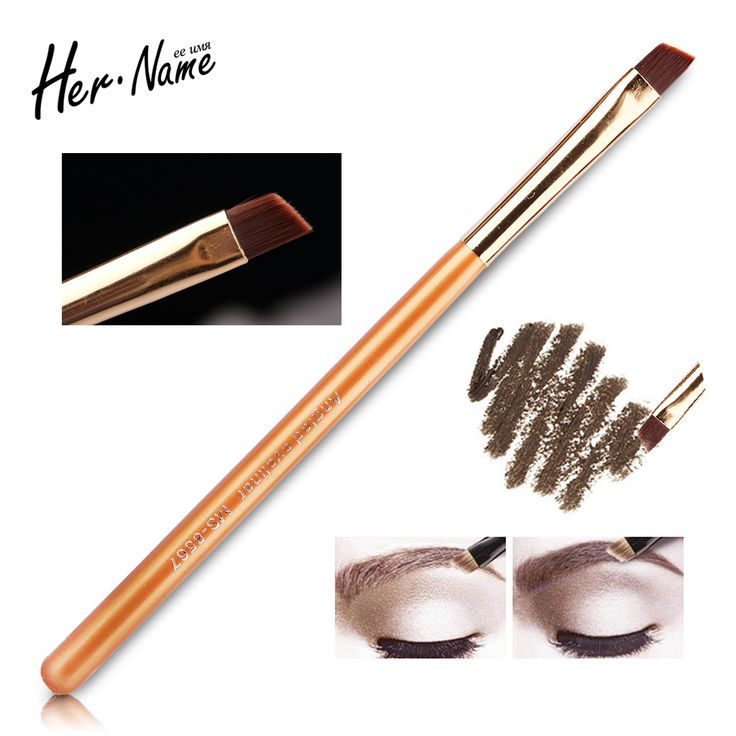 Professional soft make up Brush tools Golden Portable blush Cosmetic Brush powder makeup brushes make-up Eyeshadow Eyeliner