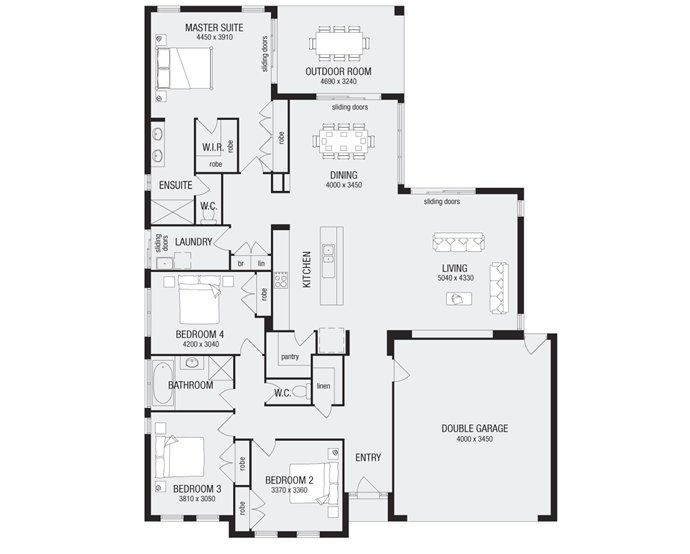Grandview 26, New Home Floor Plans, Interactive House Plans   Metricon Homes    Queensland