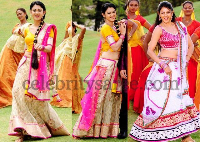 Kamna Jethmalani Lehenga Sarees | Saree Blouse Patterns