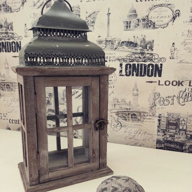 Shabby #Chic #Laterne