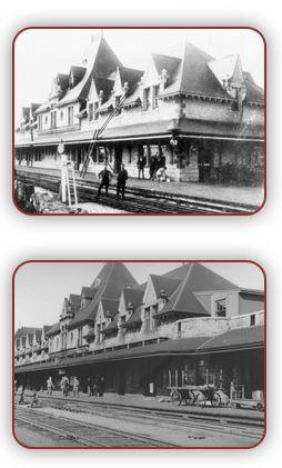 History - McAdams Railway Station