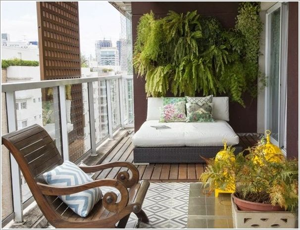 10 beautiful balkonies, both big and small