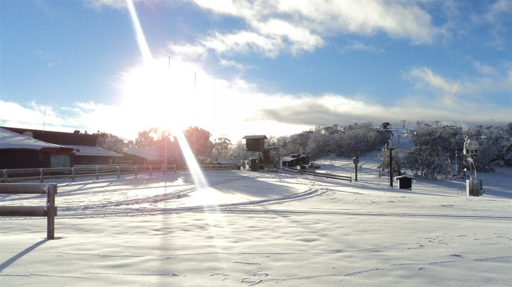 Snow Australia - Selwyn Snowfields Resort in New South Wales #snowaus