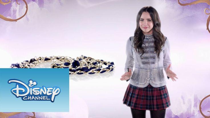Sofía Carson te enseña a hacer un cinturón estilo Auradon. Sitio oficial de Disney Channel: http://www.disneylatino.com/disneychannel/ Síguenos en Facebook: ...